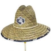 Harvey Straw Lifeguard Hat