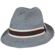 Salem Braided Toyo Straw Fedora Hat