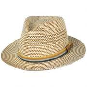Rudi Shantung LiteStraw Fedora Hat