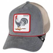 Cock-A-Doodle-Doo Cord Mesh Trucker Snapback Baseball Cap