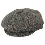 Galvin Spice Tweed Wool Blend Newsboy Cap