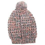 Slouchy Pom Beanie Hat