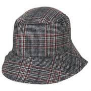 Morelia Plaid Wool Blend Bucket Hat
