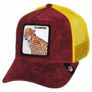 Hot Cheetah Mesh Trucker Snapback Baseball Cap