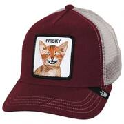 Frisky Whisky Mesh Trucker Snapback Baseball Cap