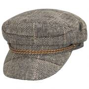 Ashland Tweed Patchworld Fiddler's Cap