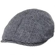 Finnegan Mini Plaid Wool Blend Newsboy Cap