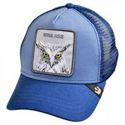 Wise Ass Mesh Trucker Snapback Baseball Cap