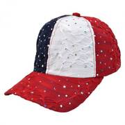 USA Jewel Adjustable Baseball Cap