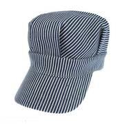Kids' Engineer Striped Cotton Snapback Cap