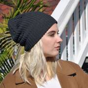 Eco Knit Cotton Beanie Hat