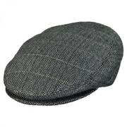 Tiber Herringbone Wool Blend Ivy Cap