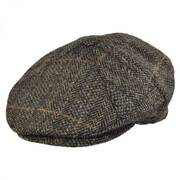 Herringbone 7-Piece Wool Ivy Cap