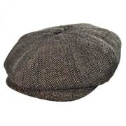 Toddler Lil Brood Herringbone Newsboy Cap