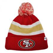 San Francisco 49ers NFL Breakaway Knit Beanie Hat