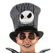 The Nightmare Before Christmas Jack Skellington Top Hat