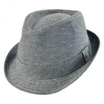 Carden Linen Fedora Hat