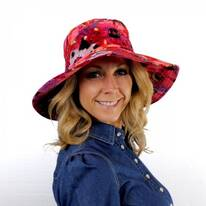 Saint Tropez Cotton Sun Hat
