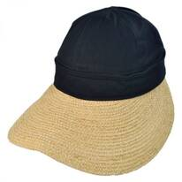 Regatta Cotton and Raffia Straw Visor
