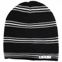 Daily Stripe Knit Beanie Hat
