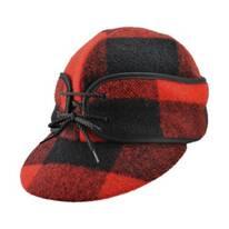 Railroad Plaid Wool Cap