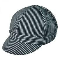 Cotton Pinstripe Welder's Cap