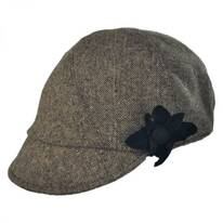 Elena Reversible Jockey Hat