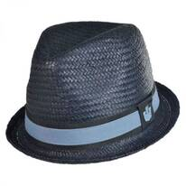 Sand Cassel Kid's Hammond Jr Toyo Straw Fedora Hat