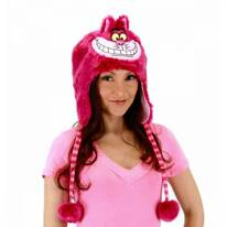Alice in Wonderland Cheshire Cat Furry Peruvian Beanie Hat