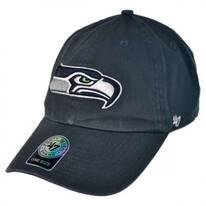 Seattle Seahawks NFL Clean Up Strapback Baseball Cap Dad Hat