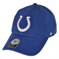 Indianapolis Colts NFL Clean Up Strapback Baseball Cap Dad Hat