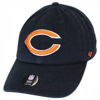 Chicago Bears NFL Clean Up Strapback Baseball Cap Dad Hat