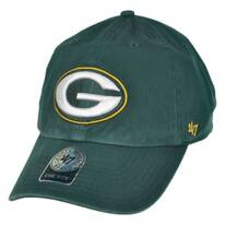 Green Bay Packers NFL Clean Up Strapback Baseball Cap Dad Hat