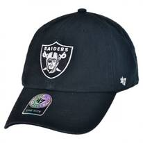 Oakland Raiders NFL Clean Up Strapback Baseball Cap