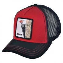 Woody Wood Mesh Trucker Snapback Baseball Cap