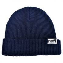 Fold Knit Beanie Hat
