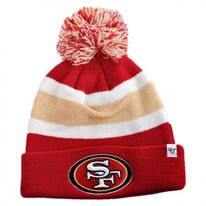 San Francisco 49ers NFL Breakaway Knit Beanie Hat