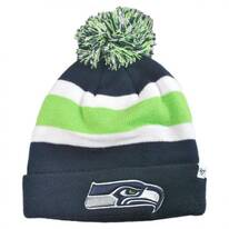 Seattle Seahawks NFL Breakaway Knit Beanie Hat