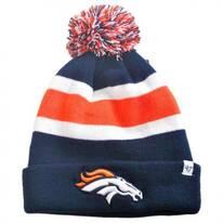 Denver Broncos NFL Breakaway Knit Beanie Hat