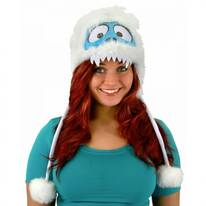 Bumble Abominable Snowman Peruvian Hoodie Hat
