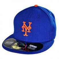 New York Mets MLB Home 59Fifty Fitted Baseball Cap