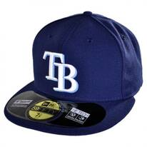 Tampa Bay Rays MLB Game 59Fifty Fitted Baseball Cap
