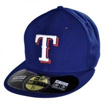 Texas Rangers MLB Game 59Fifty Fitted Baseball Cap