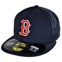 Boston Red Sox MLB Home 59Fifty Fitted Baseball Cap