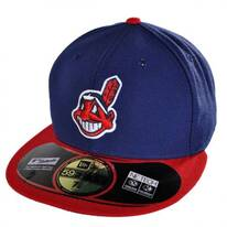 Cleveland Indians MLB Home 59Fifty Fitted Baseball Cap