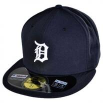 Detroit Tigers MLB Home 59Fifty Fitted Baseball Cap