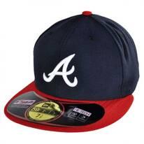 Atlanta Braves MLB Home 59Fifty Fitted Baseball Cap