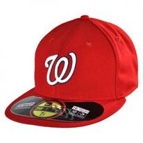 Washington Nationals MLB Game 59Fifty Fitted Baseball Cap