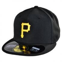 Pittsburgh Pirates MLB Game 59Fifty Fitted Baseball Cap