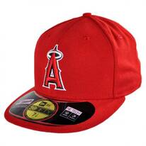 Los Angeles Angels of Anaheim MLB Game 59Fifty Fitted Baseball Cap